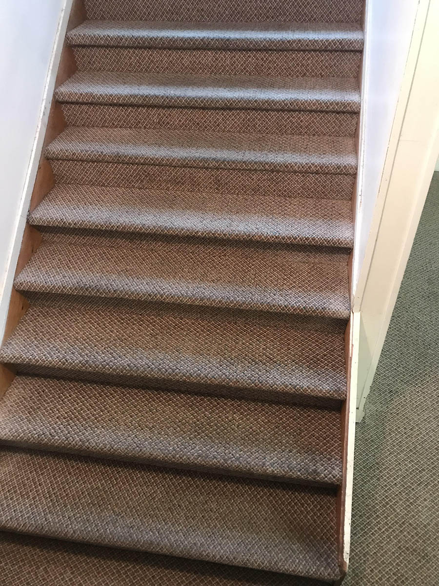 Clean Stairs After Carpet Cleaning